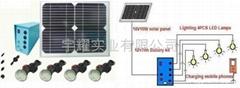 Solar LED light kit