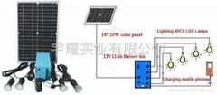 太阳能室内照明系统