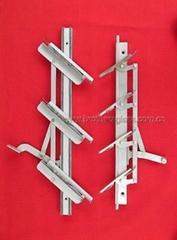 Pure Aluminum Alloy Outside Place With Double Bar(4-inch and 6-inch series)