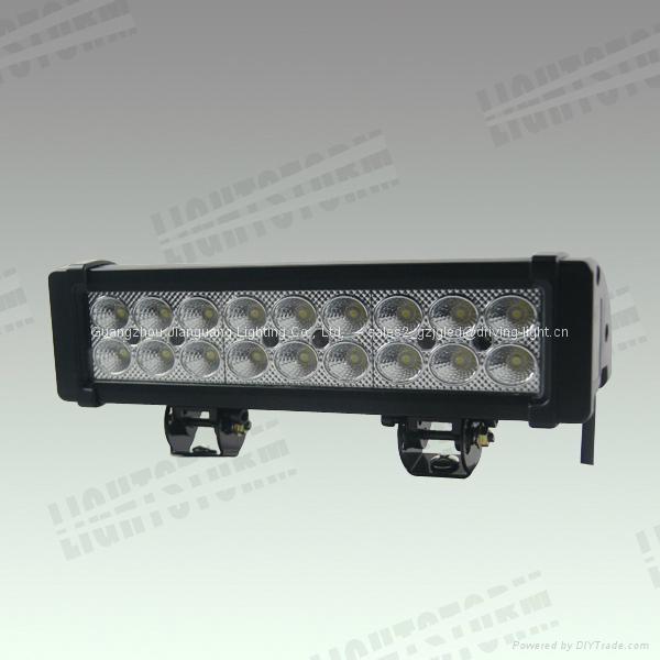 54w led vision auto led light bar offroad led work lamp. Black Bedroom Furniture Sets. Home Design Ideas