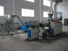PVC hot cutting granules machine