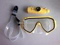 HD waterproof diving mask camera 2