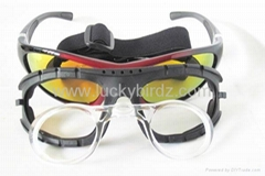 RX able padded sunglasses motorcycle