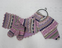 children scarf hat and glove