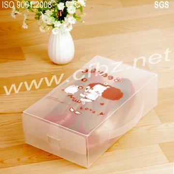 Frosted plastic box packaging 2