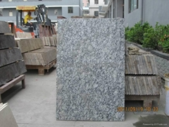 Hot sale white granite from shenzhen huangfa stone