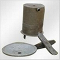 trunnion by sand casting with high