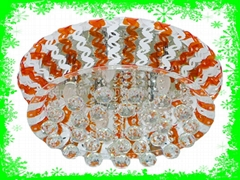 dia550*H300mm acrylic crystal ceiling light