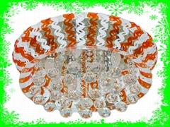 dia550*H300mm acrylic crystal ceiling light