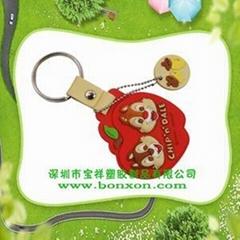 深圳廣告環保鑰匙扣