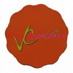 PVC軟膠廣告禮品杯墊
