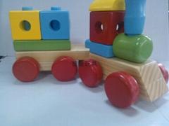 積木小火車
