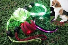 LED 閃光寵物牽引繩