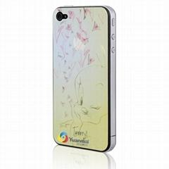 2011新款蘋果卡通手機保護膜