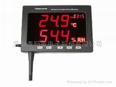 TM-185D 大型壁挂LED精密型温湿度监测器
