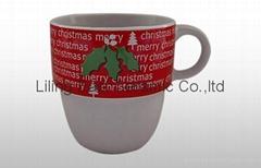 christmas gift ceramic mug