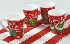 christmas gift ceramic coffee mug