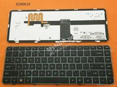 Hp Pavilion Dm4-1000 Dv5-2000 Series Black Frame Black Backlit Us Nsk-Ht1bv