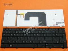 Dell Vostro 3700 Black Backlit Laptop Keyboard