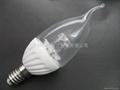 LED新款高亮陶瓷蠟燭燈