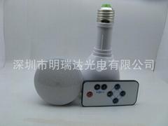 带蓄电池的遥控LED充电应急球泡灯