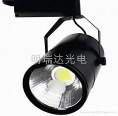 COB集成LED軌道射燈