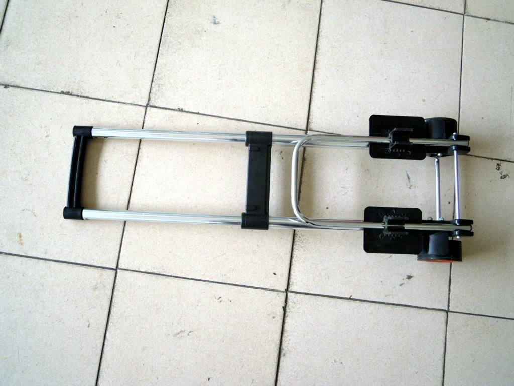 Simple and lightweight ultra-practical folding luggage cart ...