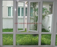 UPVC side-hung window, casement window