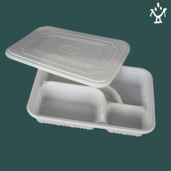 Corn starch Disposable lunch box 2