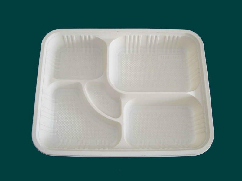 Corn starch Disposable lunch box 3