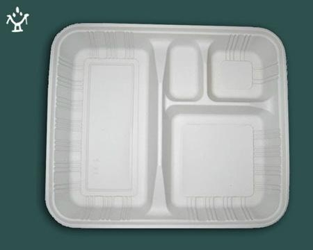 Corn starch Disposable lunch box 5