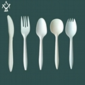 PSM Disposable  Corn starch cutlery