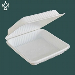 Biodegradable corn-starch  tableware