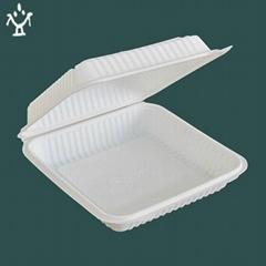 Biodegradable corn-starch  tableware