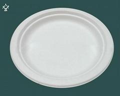 6''biodegradable disposable Corn starch plates