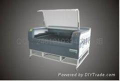 海綿膠板自動昇降平台激光切割機