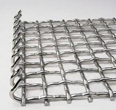 銅包鋼軋花網篩網