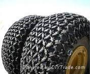 加强双耐磨装载机轮胎保护链