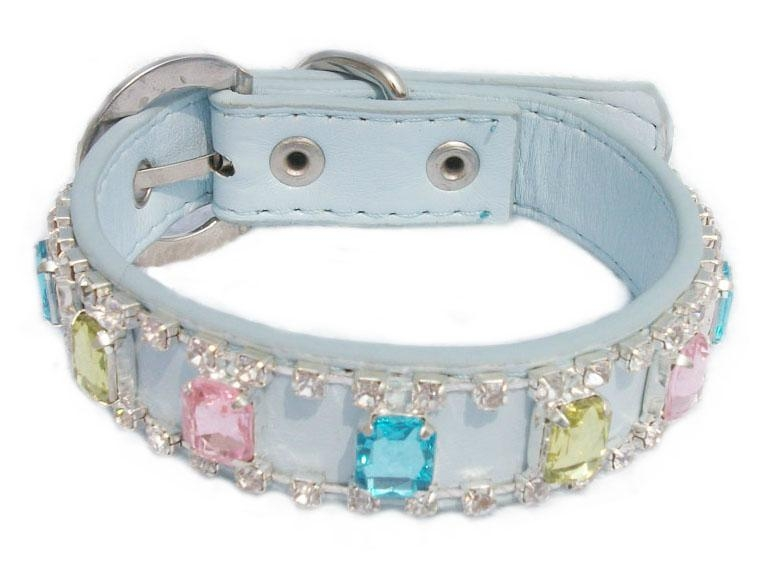 Fashionable Leather Pet Collar 1
