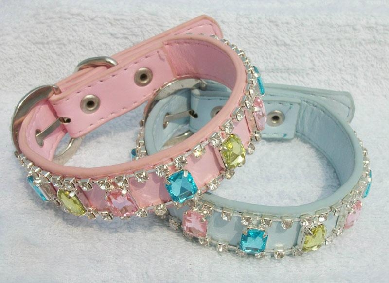 Fashionable Leather Pet Collar 2