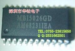 MBI5026 GP/GPA—16位元等电流LED驱动器