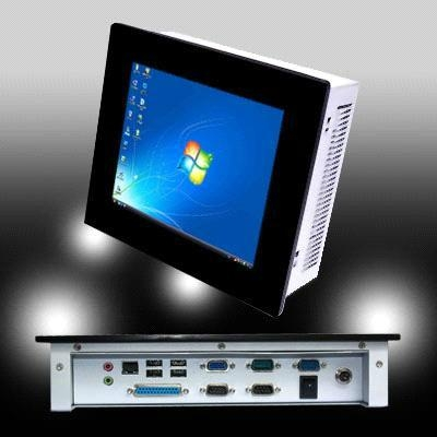 """8.4"""" LCD industrial touch Panel PC IEC-608NF with Atom D455 1"""