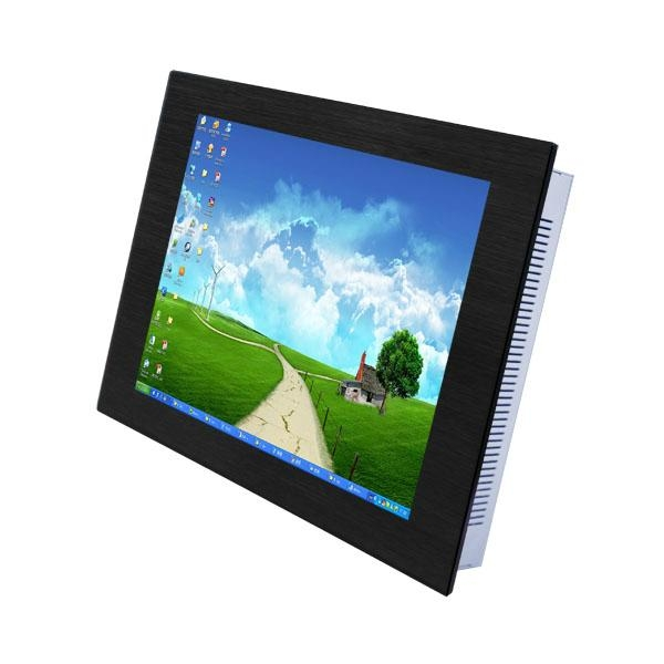 """15"""" LCD Industrial Panel PC with Intel D525 dual-core Processor 1"""