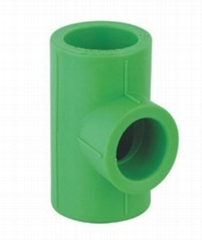 High quality ppr polypropylene pipe fittings