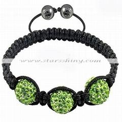 Wholesale shamballa bracelet, cheap gemstone shamballa bracelet