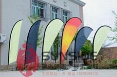 深圳刀旗旗杆供應