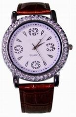 時尚女士石英手錶