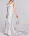 2011 new style popular organza wedding