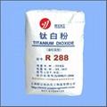 金红石型钛白粉R288(塑钢专