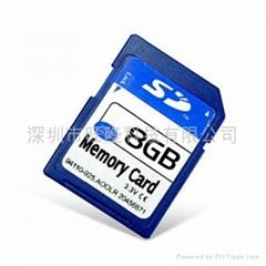 闪存卡 SD8GB